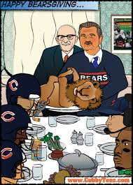 cubby tees sportoons chicago bears feast on lions in norman