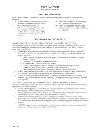 Procurement Resume Examples by Curriculum Vitae Marketing And Development Coordinator