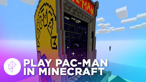 tour a working pac man cabinet built inside minecraft polygon