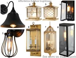 globe shaped outdoor lighting improve your home with affordable designer lighting home bunch