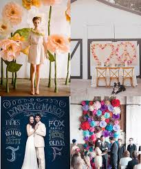 wedding backdrops diy 20 great diy wedding backdrop ideas design sponge