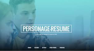 Wordpress Resume Themes 10 Best Resume Vcard Portfolio Wordpress Themes Inkthemes