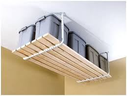 Hanging Shelves From Ceiling by Garage Ceiling Storage Garage Shelves Ceiling The Storage