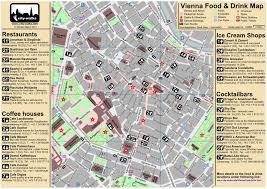 map of vienna best restaurants in vienna austria