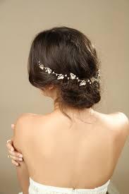 goddess headband gold leafs wedding hair wreath golden leaf crown goddess