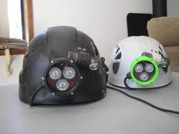 caving helmet with light printable headl for caving mining by cadsys thingiverse