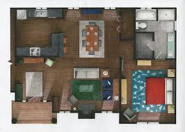 floor plan u0026 elevation rendering on scad portfolios