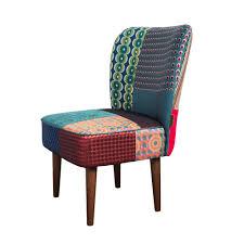 Green Armchairs Buy Desigual Patchwork Jacquard Chair Green Amara