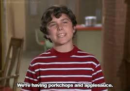 the brady bunch meme porkchops and applesauce on bingememe