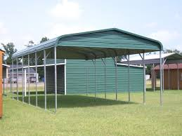 steel carport kits metal 595 boxed eave roof loversiq