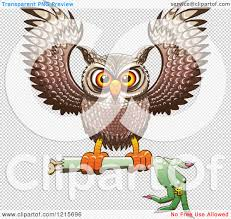 halloween clip art transparent background clipart of a halloween owl flying with a severed witch arm
