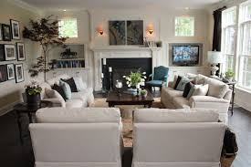 Popular Living Room Furniture Shocking Family Room Design Ideas With Fireplace Brilliant Best