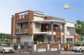 nice duplex house plan and elevation stylendesigns com