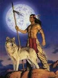 wolf and indian wolves wolf and