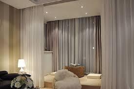 bedroom divider curtains bedroom elegant cozy room separator curtains fresh decoration the