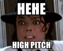 Hehe Meme - hehe high pitch angry michael jackson meme generator