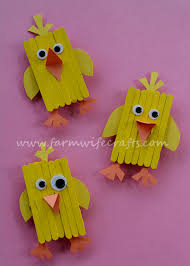 popsicle stick magnets the farmwife crafts