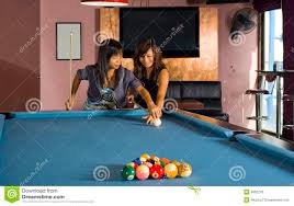 How To Play Pool Table Teaching How To Play Pool Stock Image Image Of Hold Eight 9802245
