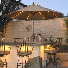 Patio Set With Umbrella Kontiki 7 Outdoor Patio Set With Umbrella Probably Umbrellas