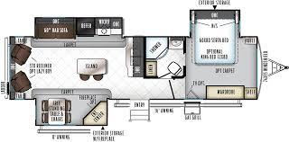 Rockwood Roo Floor Plans Rockwood Signature Ultra Lite 8329ss Travel Trailer Floor Plan