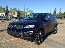 jeep trailhawk blue used 2017 jeep compass 4wd trailhawk finance 216 bw navigation