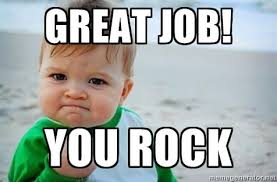 You Rock Meme - elegant meme punjabi great job you rock kid picture