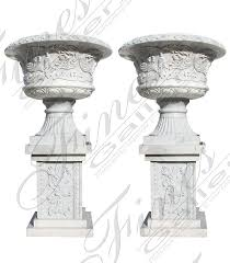 marble planters beautiful designs from the world leader