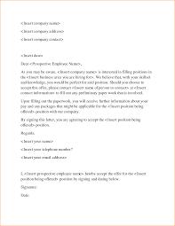 letter of offer format images letter samples format