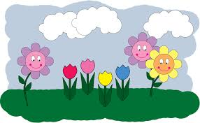 top 96 spring flowers clip art free clipart image