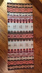 Basic Diy Loom And Woven by Hand Woven Rosepath Rag Rug Using Flannel Sheets Rugs