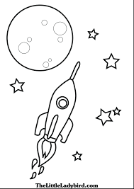 space coloring pages kids download printable rocket ship free