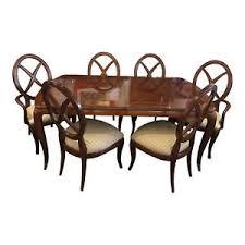 mahogany dining table thomasville bogart bel air mahogany dining table w leaves table