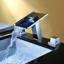 Led Bathroom Faucet by Led Faucets Led Faucet Light Faucetsinhome Com