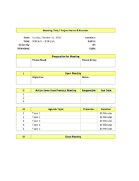 Sample Board Meeting Agenda Template by Office Meeting Agenda Template 1 1 Best Agenda Templates