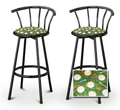 themed bar stools the furniture cove 2 golf themed fabric specialty custom black