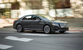 lincoln continental 2017 lincoln continental in depth model review car and driver