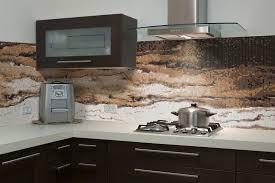 fresh modern kitchen glass backsplash 7557