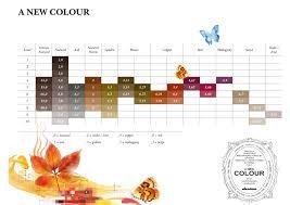 Colour Shades Davines A New Colour Shades Chart Color Charts Pinterest