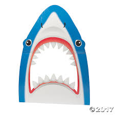 shark photo prop