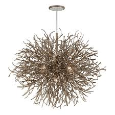 Twig Light Fixtures Twig Tangle Chandelier 12 Light Shades Of Light