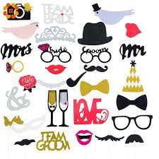 photo booth supplies online shop 31pcs set groom team photo booth props