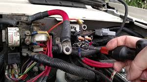 installing a new auxiliary start solenoid youtube
