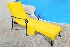 Chaise Lounge Terry Cloth Covers 100 Cotton Terry Cloth Beach Pool Chair Cover With Inflatable