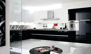 meuble de cuisine noir laqué meuble cuisine noir laquac cuisine noir et blanc laque blanche