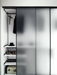 pin 2 frosted glass sliding door good for privacy but still