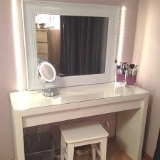 vanity table with lighted mirror and bench vanity table with lighted mirror and bench fresh vanity table with