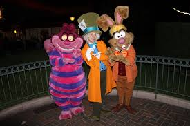 disneyland paris halloween party 2013 alice in wonderland group