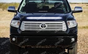 2014 tundra led light bar super bright led hood bulge strip for 2014 up toyota tundra grille