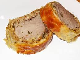 cuisine filet mignon de porc filet mignon de porc de plein air en croûte aux noix et échalotes