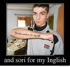 My Life Is Over Meme - thenks mather and sori for my inglish funny pinterest humor